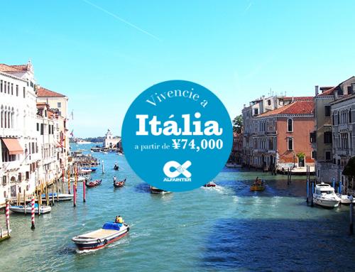 Vivencie a Itália!