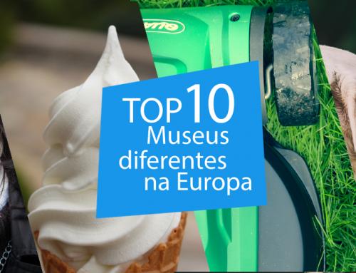 "10 Museus ""diferentes"" para visitar na Europa."