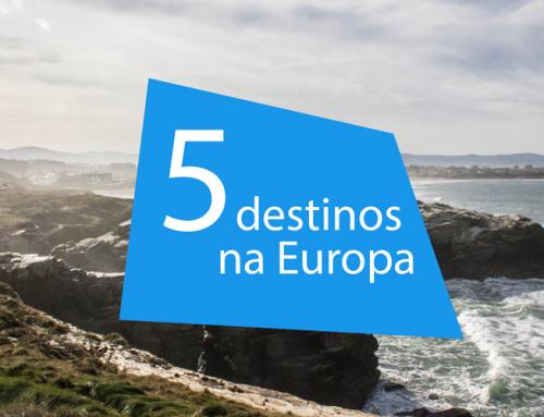 5 Destinos incríveis na Europa.