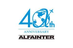 Logo Alfainter 40 Anos